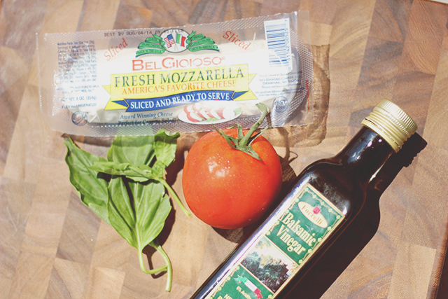 The Brunette One Recipe Caprese Salad_1