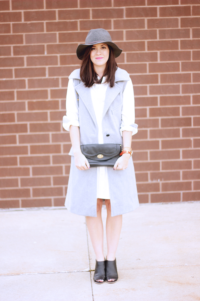 My Style White Shirt Dress The Brunette One
