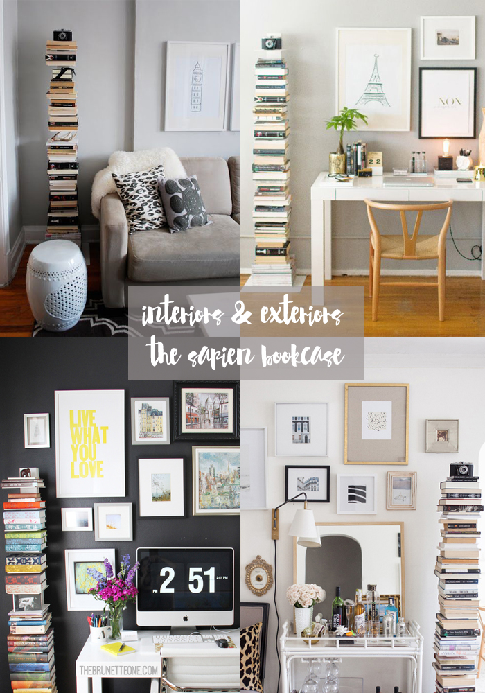 The Brunette One | How to Decorate With The Sapien Bookcase.