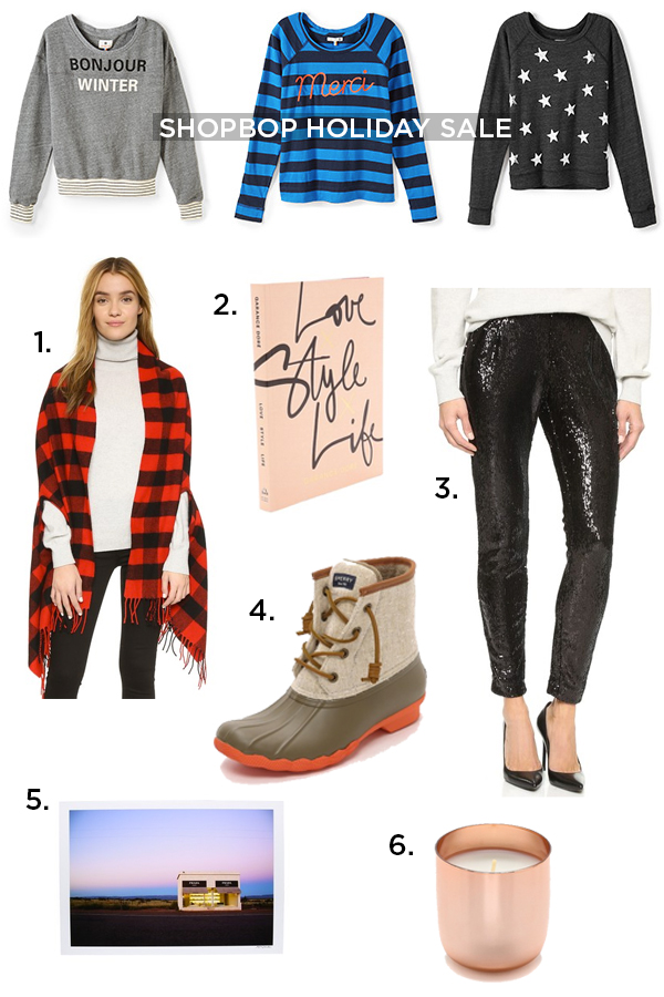 Shopbop Holiday Sale