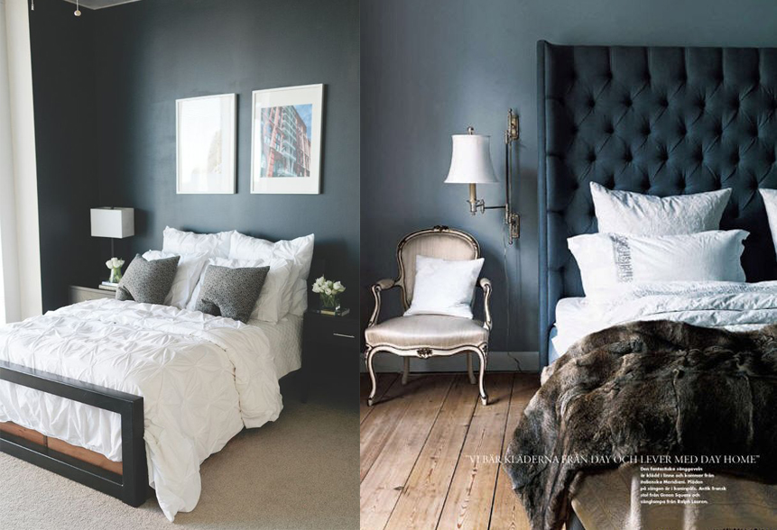 Moody Bedroom - 1
