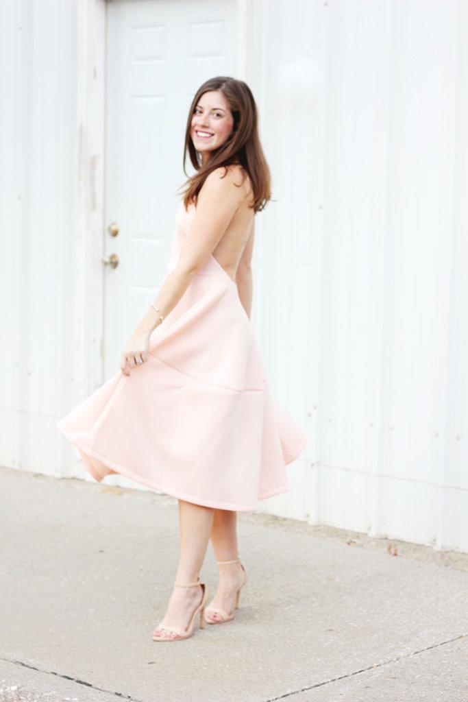 The Brunette One Pink Ballerina Dress_5