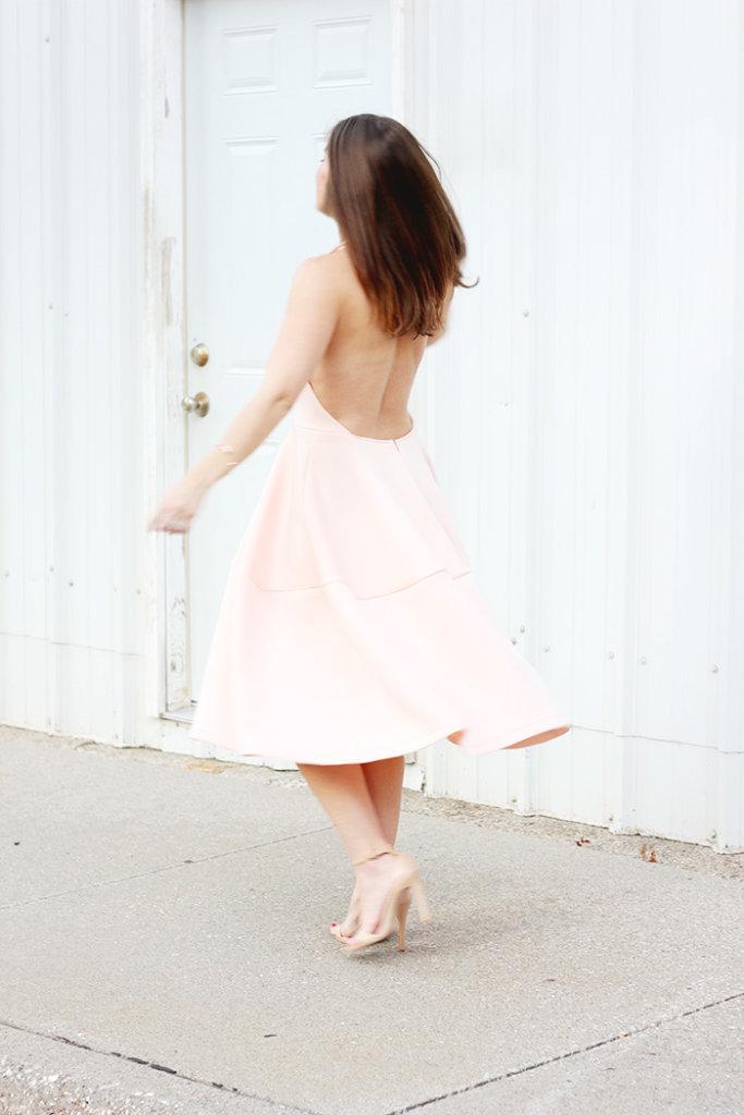 The Brunette One Pink Ballerina Dress_6
