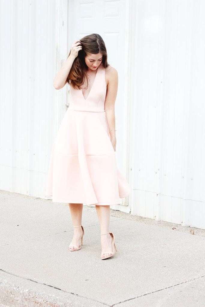 The Brunette One Pink Ballerina Dress_7
