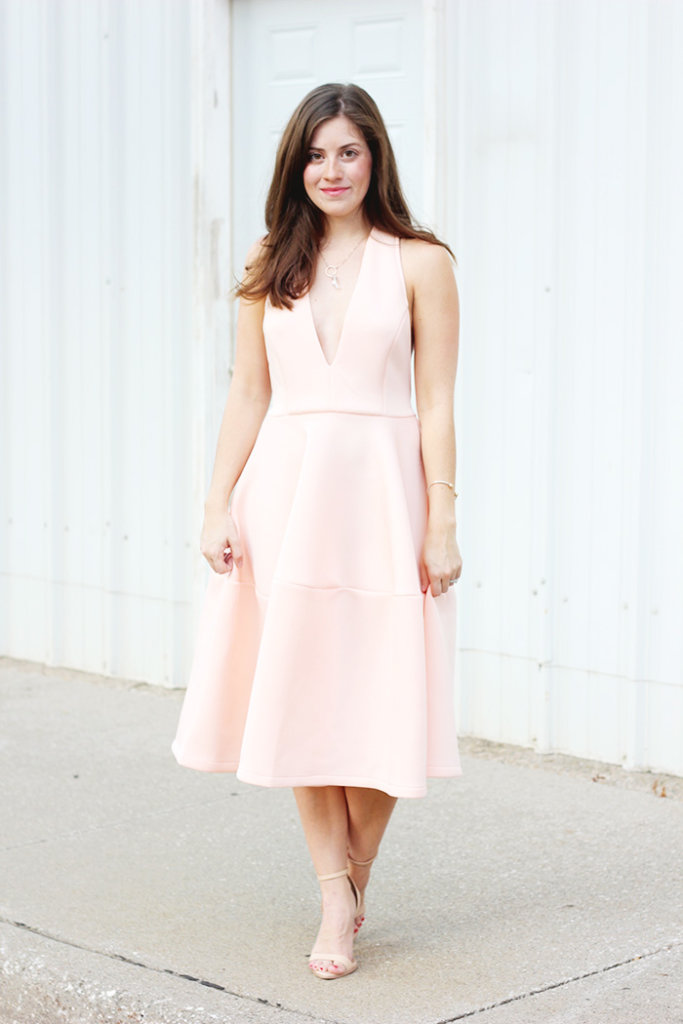 The Brunette One Pink Ballerina Dress_8