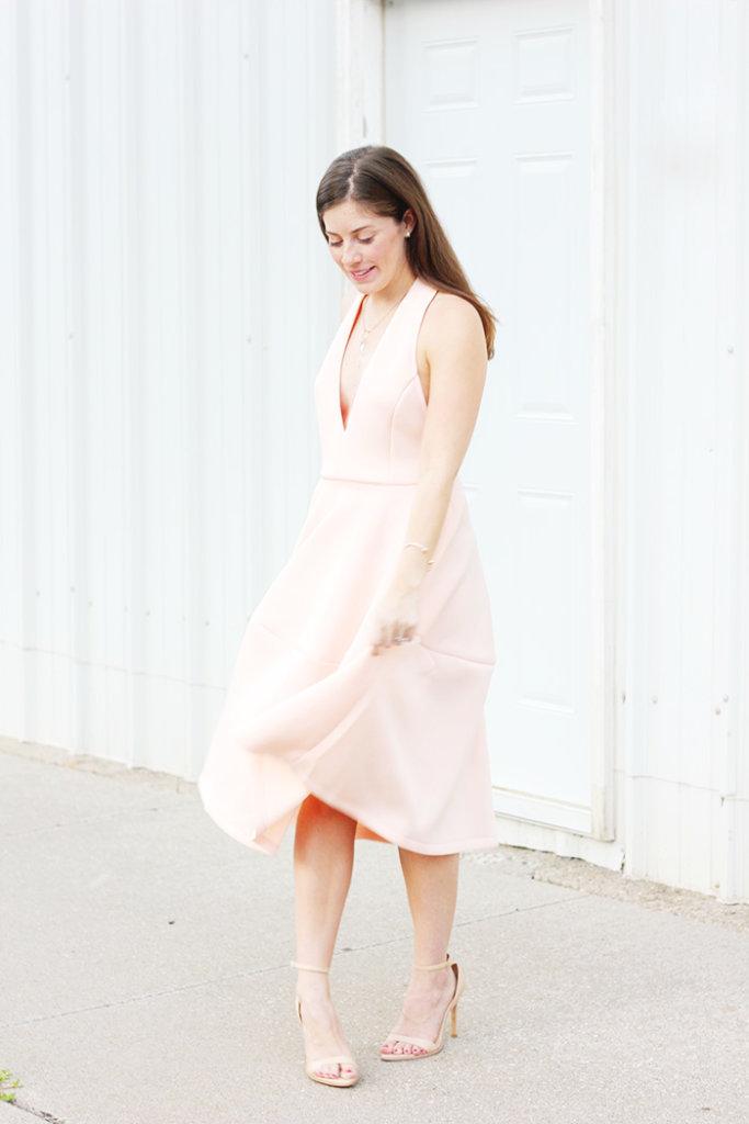 The Brunette One Pink Ballerina Dress_9