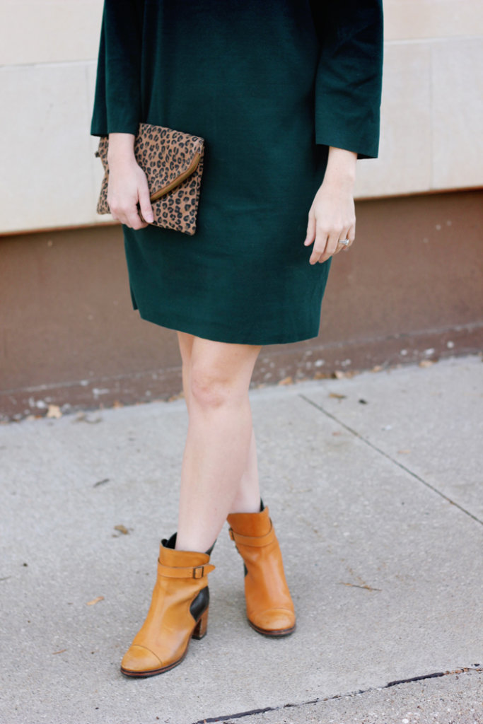 Green Sweater Dress The Brunette One