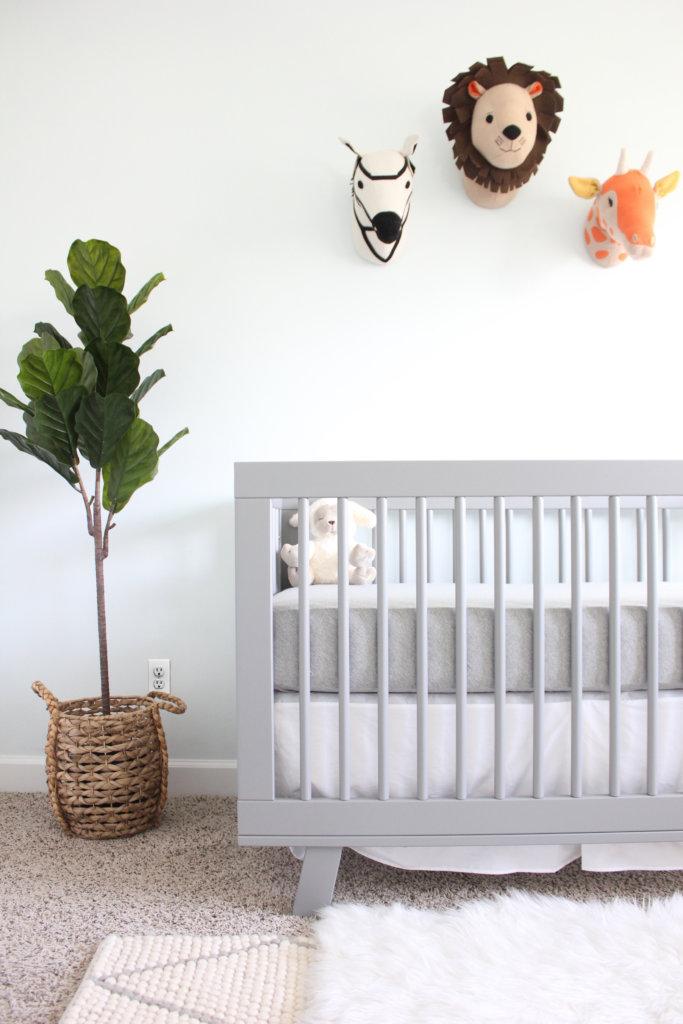 Living Room Nursery Ideas